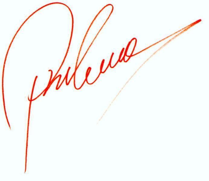 Podpis Zdeňka Pohlreicha