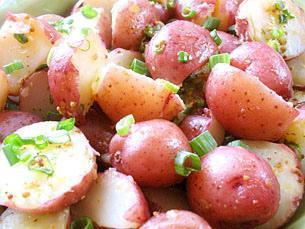 malé brambory